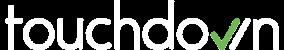 White Touchdown logo PNG